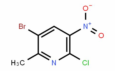 Pyridine, 3-broMo-6-chloro-2-Methyl-5-nitro-