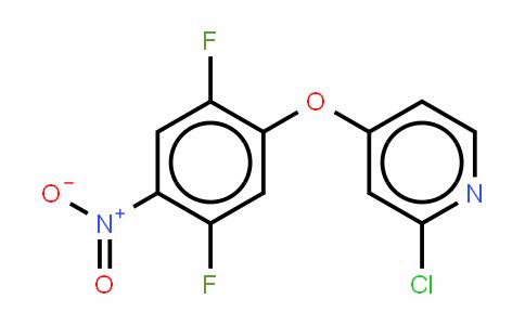 Pyridine,2-chloro-4-(2,5-difluoro-4-nitrophenoxy)-