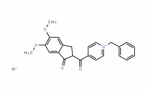 Pyridinium, 4-[(2,3-dihydro-5,6-dimethoxy-1-oxo-1H-inden-2-yl)carbonyl]-1-(phenylmethyl)-, bromide