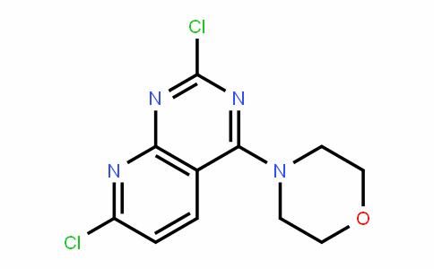 Pyrido[2,3-d]pyrimidine, 2,7-dichloro-4-(4-morpholinyl)-