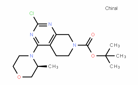 Pyrido[3,4-d]pyriMidine-7(6H)-carboxylic acid, 2-chloro-5,8-dihydro-4-[(3S)-3-Methyl-4-Morpholinyl]-, 1,1-diMethylethyl ester