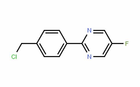 Pyrimidine, 2-[4-(chloromethyl)phenyl]-5-fluoro-