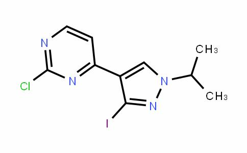 PyriMidine, 2-chloro-4-[3-iodo-1-(1-Methylethyl)-1H-pyrazol-4-yl]-