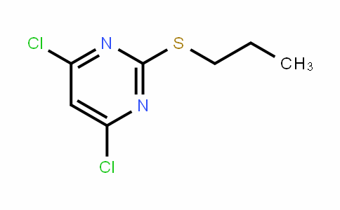 Pyrimidine, 4,6-dichloro-2-(propylthio)-