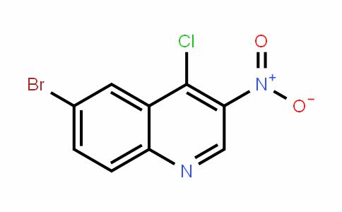 Quinoline, 6-bromo-4-chloro-3-nitro-