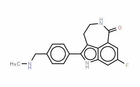 8-氟-1,3,4,5-四氢-2-[4-[(甲基氨基)甲基]苯基]-6H-吡咯并[4,3,2-EF][2]苯并氮杂-6-酮