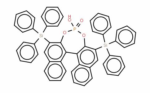 S-3,3'-Bis(triphenylsilyl)-1,1'-binaphthyl-2,2'-diyl hydrogenphosphate