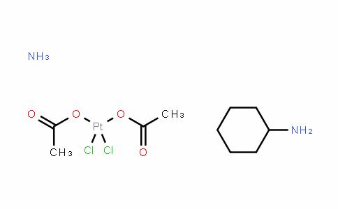顺式-二氯-反式-二乙酸-氨-环己胺合铂