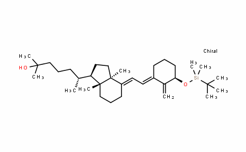 Silane, (1,1-dimethylethyl)dimethyl[[(3β,5E,7E)-9,10-secocholesta-5,7,10(19)-trien-3-yl]oxy]-