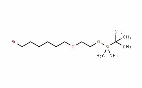 Silane, [2-[(6-broMohexyl)oxy]ethoxy](1,1-diMethylethyl)diMethyl-