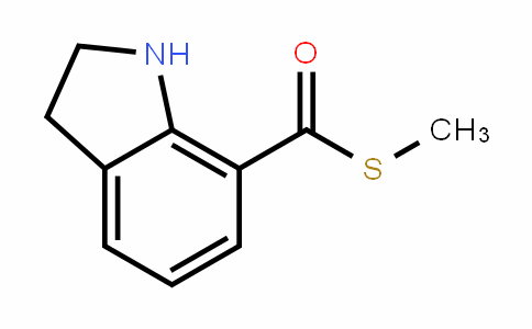 S-methyl indoline-7-carbothioate