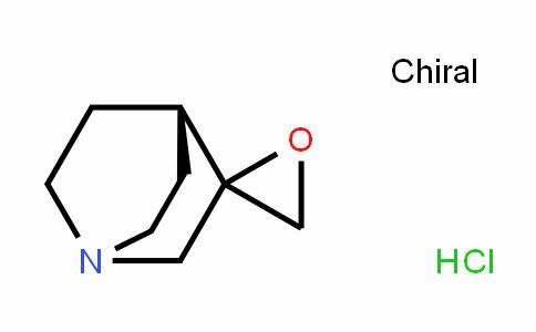 Spiro[1-azabicyclo[2.2.2]octane-3,2'-oxirane], (Hydrochloride) (9CI)