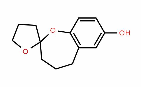 Spiro[1-benzoxepin-2(3H),2'(3'H)-furan]-7-ol, 4,4',5,5'-tetrahydro-