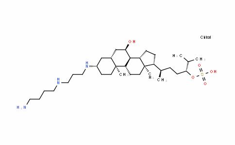 (3Β,5Α,7Α)-3-[[3-((4-氨基丁基)氨基)丙基]氨基]胆甾烷-7,24-二醇24-氢硫酸酯