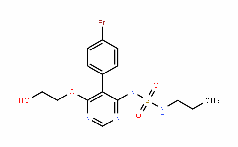 Sulfamide, N-[5-(4-bromophenyl)-6-(2-hydroxyethoxy)-4-pyrimidinyl]-N'-propyl-