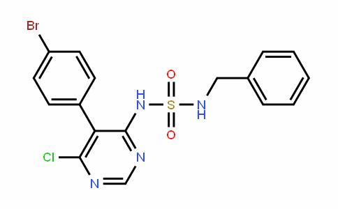 Sulfamide, N-[5-(4-bromophenyl)-6-chloro-4-pyrimidinyl]-N'-(phenylmethyl)-
