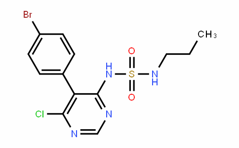 Sulfamide, N-[5-(4-bromophenyl)-6-chloro-4-pyrimidinyl]-N'-propyl-