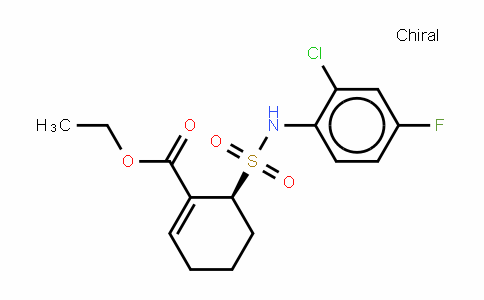 (6S)-6-[[(2-氯-4-氟苯基)氨基]磺酰基]-1-环己烯-1-甲酸乙酯