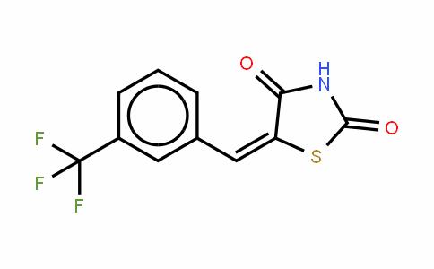 5-[[3-(三氟甲基)苯基]亚甲基]-2,4-噻唑烷二酮