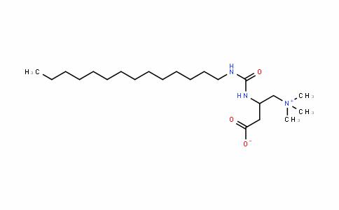 3-[(十四烷基氨基甲酰)氨基]-4-(三甲基氨)丁酸酯