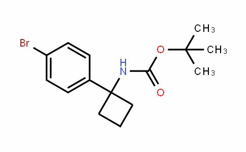 Tert-butyl 1-(4-bromophenyl)cyclobutylcarbamate