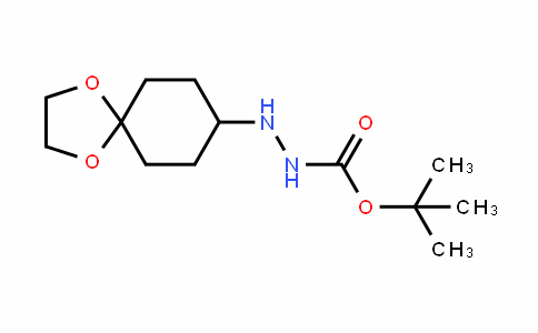 Tert-butyl 2-(1,4-dioxaspiro[4.5]decan-8-yl)hydrazinecarboxylate