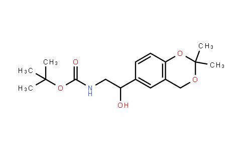 Tert-butyl 2-(2,2-diMethyl-4h-benzo[d][1,3]dioxin-6-yl)-2-hydroxyethylcarbaMate