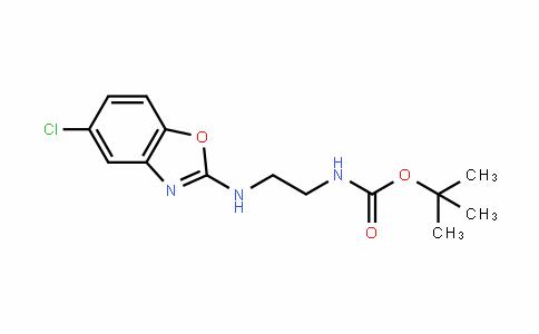 Tert-butyl 2-(5-chlorobenzo[d]oxazol-2-ylamino)ethylcarbamate