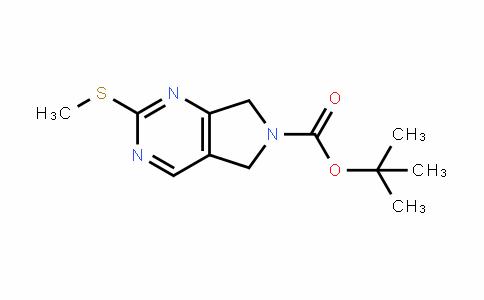 Tert-butyl 2-(Methylthio)-5H-pyrrolo[3,4-d]pyriMidine-6(7H)-carboxylate