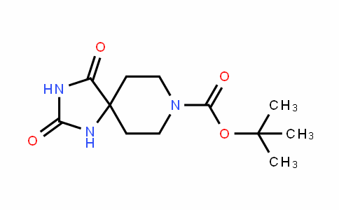 Tert-butyl 2,4-dioxo-1,3,8-triazaspiro[4.5]decane-8-carboxylate