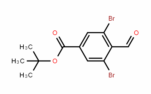 Tert-butyl 3,5-dibroMo-4-forMylbenzoate