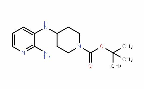 Tert-Butyl 4-((2-aminopyridin-3-yl)amino)piperidine-1-carboxylate