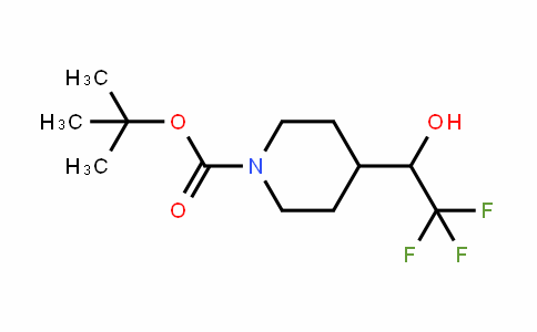 Tert-Butyl 4-(2,2,2-trifluoro-1-hydroxyethyl)piperidin-1-carboxylate