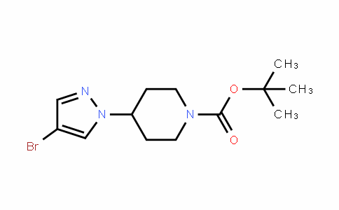 Tert-butyl 4-(4-bromo-1H-pyrazol-1-yl)piperidine-1-carboxylate