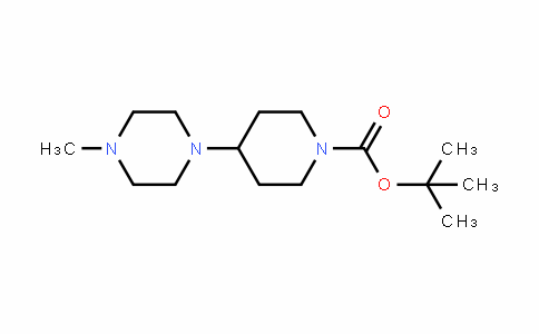 Tert-butyl 4-(4-methylpiperazin-1-yl)piperidine-1-carboxylate