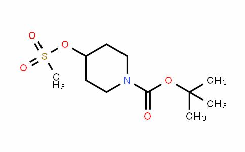 Tert-butyl 4-(methylsulfonyloxy)piperidine-1-carboxylate