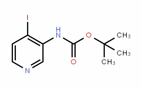 Tert-butyl 4-iodopyridin-3-ylcarbamate