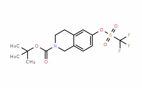 Tert-butyl 6-(trifluoromethylsulfonyloxy)-3,4-dihydroisoquinoline-2(1H)-carboxylate
