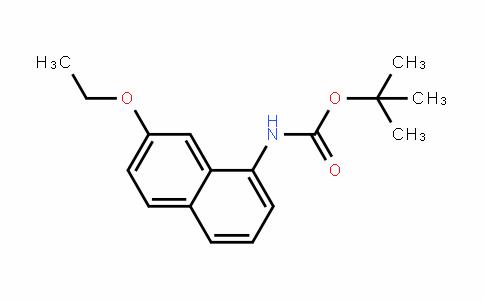 Tert-butyl 7-ethoxynaphthalen-1-ylcarbamate