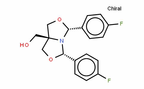 (3R,5S,7AS)-[3,5-二(4-氟苯基)四氢-1H-恶唑并[3,4-C]恶唑-7A-基]甲醇