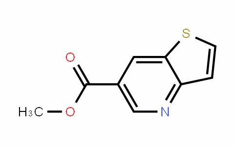 THIENO[3,2-B]PYRIDINE-6-CARBOXYLIC acid METHYL ESTER