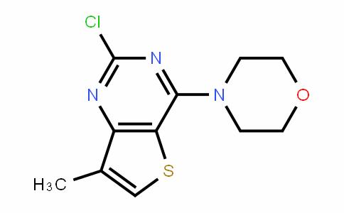 Thieno[3,2-d]pyrimidine, 2-chloro-7-methyl-4-(4-morpholinyl)-