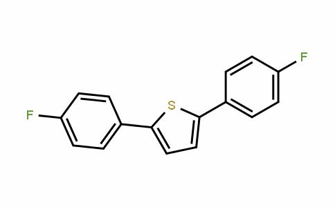 Thiophene, 2,5-bis(4-fluorophenyl)-