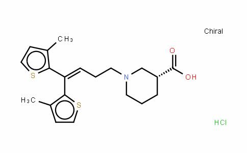 Tiagabine (hydrochloride)