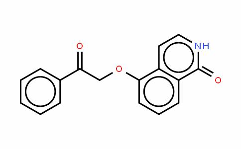 5-(2-氧代-2-苯基乙氧基)-1(2H)-异喹啉酮