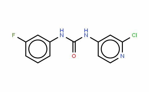 Urea, N-(2-chloro-4- pyridinyl)-N'-(3-fluorophenyl)-