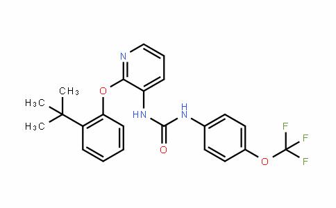 Urea, N-[2-[2-(1,1-diMethylethyl)phenoxy]-3-pyridinyl]-N'-[4-(trifluoroMethoxy)phenyl]-