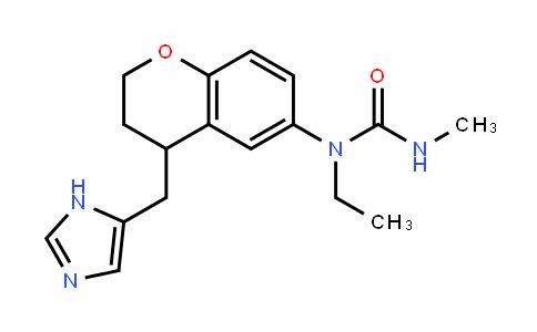 Urea, N-[3,4-dihydro-4-(1H-iMidazol-5-ylMethyl)-2H-1-benzopyran-6-yl]-N-ethyl-N'-Methyl-