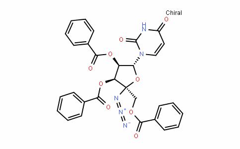 Uridine, 4'-C-azido-, 2',3',5'-tribenzoate