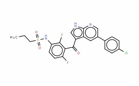 N-(3-{[5-(4-氯苯基)-1H-吡咯并[2,3-b]吡啶-3-基]羰基}-2,4-二氟苯基)丙烷-1-磺酰胺